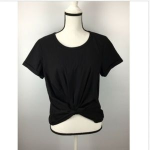 Socialite NEW Black Women's Size XL Gathered Solid